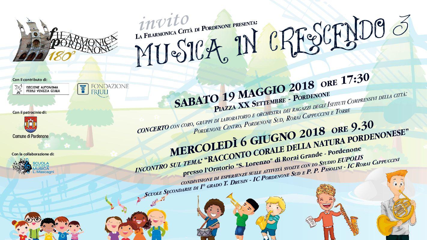 Musica in crescendo 3 – Di nuovo in piazza!