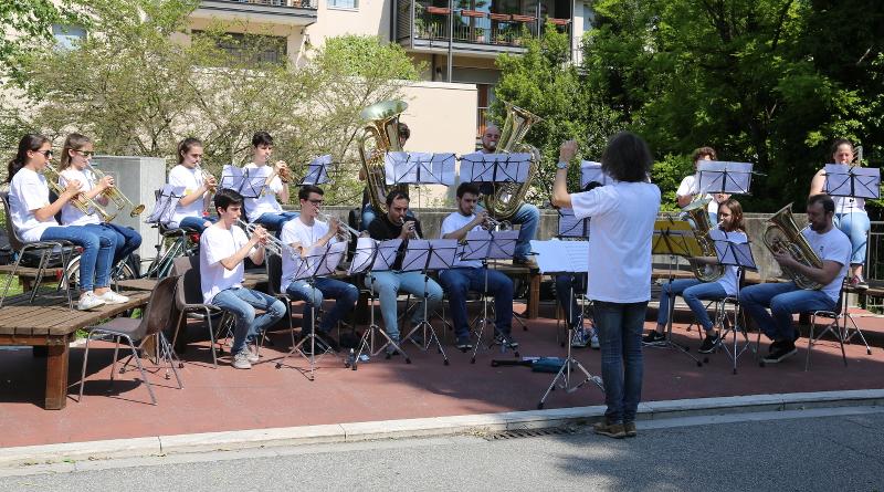 """La Brass Band della scuola a """"Incontriamoci a Pordenone"""""""