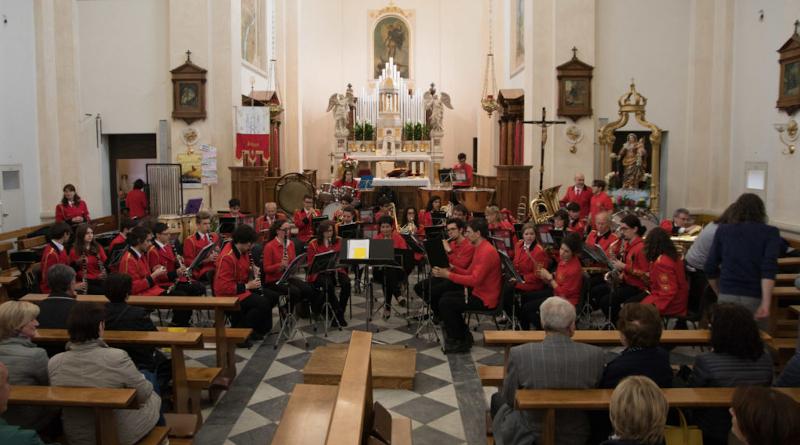 Filarmonica e Santa Cecilia